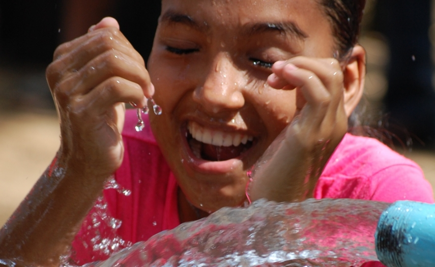 Image forCelebrating clean water can get a little messy!