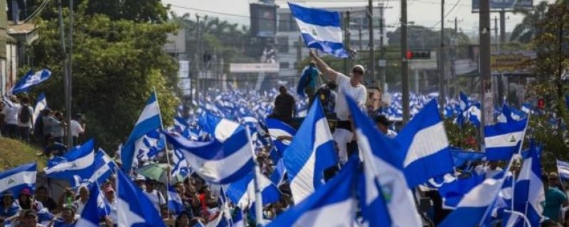 Image forIn solidarity with Nicaragua